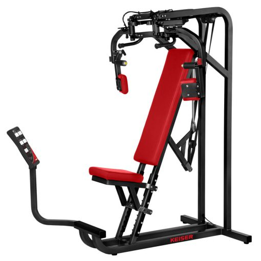 Keiser Air350 Seated Butterfly Fitness Machine 510x510 - AIR350 SEATED BUTTERFLY